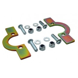 Front Coil Spring Retaining Plates (Defender 90/110/130/Discovery 1/Range Rover Classic) - All Models www.p38spares.com spring,