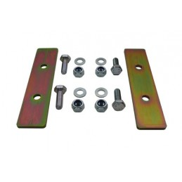 Rear Coil Spring Retaining Plates Defender 110 And 130 - All Models - supplied by p38spares rear, spring, coil, all, and, defe