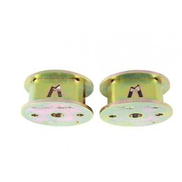 2 Inch Rear Coil Spring Spacers (Defender 90/110/130/Discovery 1/Discovery 2/Range Rover Classic) - All Models www.p38spares.com
