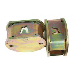 2 Inch Front Coil Spring Spacers (Discovery 2) - All Models www.p38spares.com spring, front, coil, 2, all, inch, spacers, models