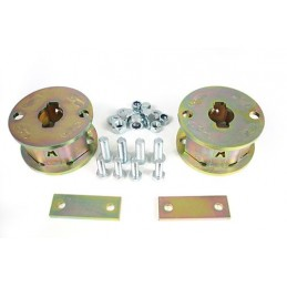 2 Inch Rear Air Bag Spacers (Discovery 2) - All Models - supplied by p38spares air, rear, bag, 2, all, inch, spacers, models,