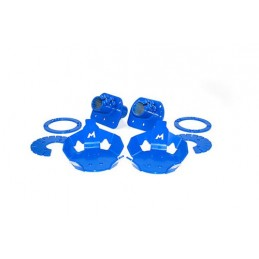 Hydraulic Bump Stop Rear Mounting Kit (Defender 90/Discovery 1/Range Rover Classic) - All Models - supplied by p38spares rear,