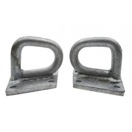 Defender Rear Cross Member Recover Points (Pair) - All Models - supplied by p38spares rear, all, defender, models, -, Cross, M