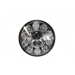 "Terrafirma 7"" Led Headlight Right Hand Drive - All Models - supplied by p38spares 7, all, inch, terrafirma, models, -, Led, He"