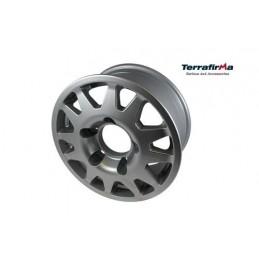 Terrafirma Dakar Alloy Wheel (Silver) - All Models www.p38spares.com all, wheel, terrafirma, models, -, Alloy, Dakar, (Silver) T