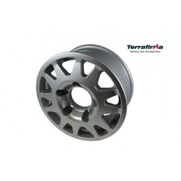 Terrafirma Dakar Alloy Wheel (Silver) - All Models - supplied by p38spares all, wheel, terrafirma, models, -, Alloy, Dakar, (S