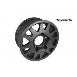 Terrafirma Dakar Alloy Wheel (Satin Black) - All Models - supplied by p38spares all, wheel, terrafirma, models, -, Alloy, Blac