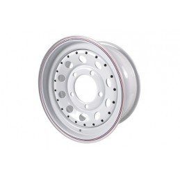 Modular Steel Wheel (White) - All Models - supplied by p38spares all, wheel, steel, models, -, Modular, (White)