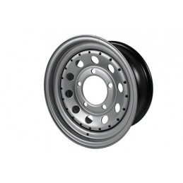 Modular Steel Wheel (Silver) - All Models - supplied by p38spares all, wheel, steel, models, -, (Silver), Modular