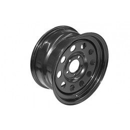 Modular Steel Wheel (Black) - All Models - supplied by p38spares all, wheel, steel, models, -, Modular, (Black)