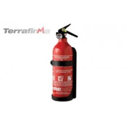 Terrafirma 600g Powder fire Extinguisher. - supplied by p38spares all, models, -