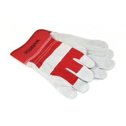 Leather And Cotton Winching Gloves - - supplied by p38spares and, -, Leather, Cotton, Winching, Gloves