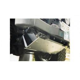 Mantec Heavy Duty 8Mm Solid Aluminium Steering Guard. - - supplied by p38spares aluminium, heavy, duty, -, Steering, Solid, Ma