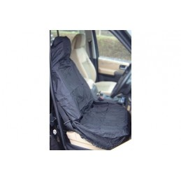 Elasticated Single Black Universal Waterproof Seatcover - - supplied by p38spares single, black, -, Universal, Elasticated, Wa