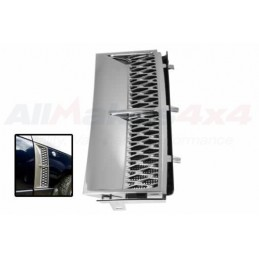 Range Rover L322 2002-2009 Front Right Hand Side Chrome Grille Air Inlet - www.p38spares.com air, right, front, rover, range, L3