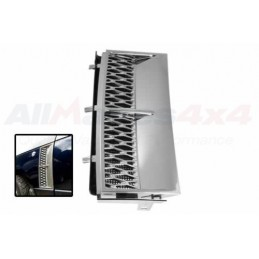 Range Rover L322 2002-2009 Front Left Hand Side Chrome Grille Air Inlet - www.p38spares.com air, left, front, rover, range, L322