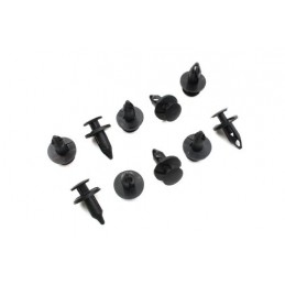 Engine Undertray Fixing Plastic Drive Rivet Clip X 10 - Land Rover Discovery 2 4.0 L V8 & Td5 Models 1998-2004