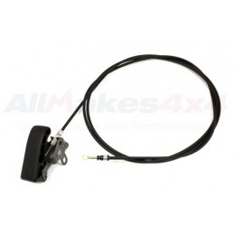 Bonnet Release Cable - Land Rover Discovery 2 4.0 L V8 & Td5 Up To Vin/Chassis No: 2A754215 Models 1998-2002