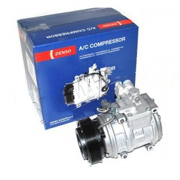 Denso V8 Petrol Air Conditioning Compressor Pump - Range Rover Mk2 P38A 4.0 4.6 Models 1999-2002 - supplied by p38spares air,