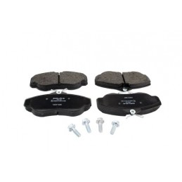 Delphi Front Vented Brake Disc Pad Set & Bolts - Land Rover Discovery 2 4.0 L V8 & Td5 Models 1998-2004