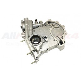 Oil Pump And Timing Cover - Genuine - Range Rover Mk2 P38A 4.0 4.6 V8 Petrol Models 1999-2002 - supplied by p38spares pump, pe