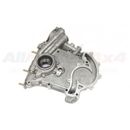 Oil Pump And Timing Cover - Genuine - Range Rover Mk2 P38A 4.0 4.6 V8 Petrol Models 1994-1999 - supplied by p38spares pump, pe