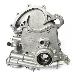 Oil Pump And Timing Cover - Oem - Range Rover Mk2 P38A 4.0 4.6 V8 Petrol Models 1999-2002 - supplied by p38spares pump, oem, p