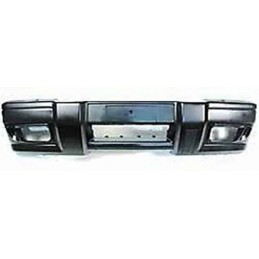Genuine Front Bumper - Black Finish - Land Rover Discovery 2 4.0 L V8 & Td5 To Vin/Chassis No: 2A999999 Models 2002-2004 - sup