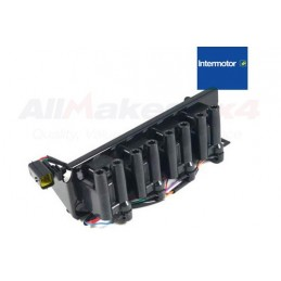 Ignition Coil Pack - Straight Pack For X8 Leads To Vin Wa410481 - Range Rover Mk2 P38A 4.0 4.6 V8 Petrol Models 1994-1999 www.p3