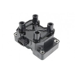 Ignition Coil Pack - Square Pack For X4 Leads From Vin Xa410482 - Range Rover Mk2 P38A 4.0 4.6 V8 Petrol Models 1999-2002 www.p3