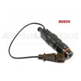 Diesel Engine Bosch Fuel Injector & Sensor Brown - Late Type - Range Rover Mk2 P38A   BMW 2.5 Td Models 1999-2002
