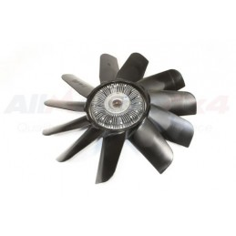 Oem Viscous Fan Assembly - Land Rover Discovery 2 Td5 Diesel Models 1998-2004 - supplied by p38spares oem, assembly, diesel, 2