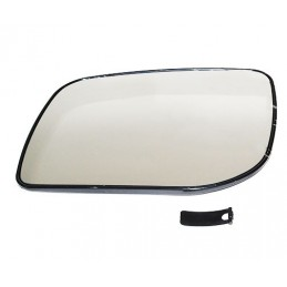 External Heated Left Hand Rear View Door Mirror Glass - Range Rover Mk2 P38A 4.0 4.6 V8 & 2.5 Td Models 1994-2002 - supplied b