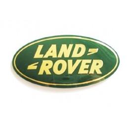 Front Land Rover Grill Badge In Green And Gold - Range Rover Mk2 P38A   4.0 4.6 V8 & 2.5 Td Models 1994-2002