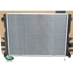 Genuine Radiator Assembly Without Ecd3 - Land Rover Discovery 2 Td5 Models 1998-2004 - supplied by p38spares without, assembly
