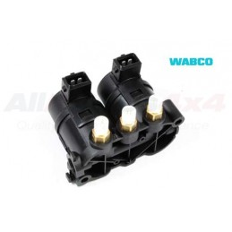 Wabco Air Suspension Valve Block / Solenoids (Pair) - Land Rover Discovery 2 4.0 L V8 & Td5 Models 1998-2004 - supplied by p38
