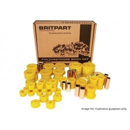 Yellow Suspension Polybush Bush Kit - Range Rover Mk2 P38A 4.0 4.6 V8 & 2.5 Td Models 1994-2002 - supplied by p38spares suspen