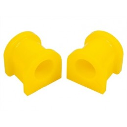 Anti Roll Bar Yellow Polyurethane Bush Set - Front - Range Rover Mk2 P38A 4.0 4.6 V8 & 2.5 Td Models 1994-2002 - supplied by p