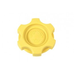 Oe Oil Filler Cap - Yellow - Land Rover Discovery 2 Td5 Models 1998-2004