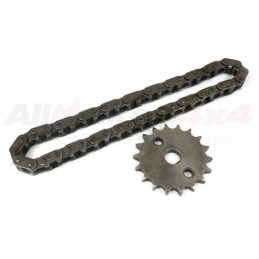 Oil Pump Chain And Sprocket Kit - Land Rover Discovery 2 Td5 Models 1998-2004