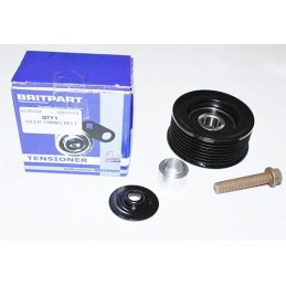 Timing Fan Belt Idler Pulley - Land Rover Discovery 2 Td5 Models 1998-2004 - supplied by p38spares 2, rover, land, discovery,