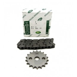 Genuine Oil Pump Chain And Sprocket Kit - Land Rover Discovery 2 Td5 Models 1998-2004
