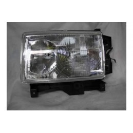 Left Side Headlamp Lighting Unit Assembly - Rhd - Plain Surround - Range Rover Mk2 P38A 4.0 4.6 V8 & 2.5 Td Models 1994-1999 -