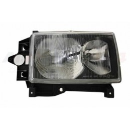Right Side Headlamp Lighting Unit Assembly - Lhd - Black Surround - Range Rover Mk2 P38A 4.0 4.6 V8 & 2.5 Td Models 1999-2002