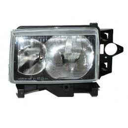 Left Side Headlamp Lighting Unit Assembly - Lhd - Black Surround - Range Rover Mk2 P38A   4.0 4.6 V8 & 2.5 Td Models 1999-2002
