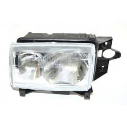 Left Side Headlamp Lighting Unit Assembly - Lhd - Plain Surround - Range Rover Mk2 P38A   4.0 4.6 V8 & 2.5 Td Models 1994-1999
