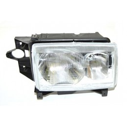 Right Side Headlamp Lighting Unit Assembly - Lhd - Plain Surround - Range Rover Mk2 P38A 4.0 4.6 V8 & 2.5 Td Models 1994-1999 ww