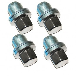 Oem Alloy Wheel Nuts X4 - To Fit Standard Factory Fit Wheels - L322, Discovey 3 - 4 , Rr Sport   Models 2006 Onwards