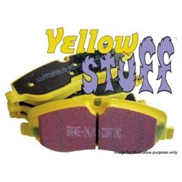 Ebc Yellow Stuff Performancef Front Brake Pads - Range Rover Mk2 P38A   4.0 4.6 V8 & 2.5 Td Models 1994-2002
