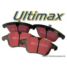 Ebc Ultimax Performance Rear Brake Pads - Range Rover Mk2 P38A 4.0 4.6 V8 & 2.5 Td Models 1994-2002 - supplied by p38spares re